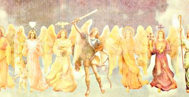 origen de los arcangeles
